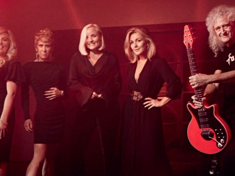 MAZZ MURRAY, KERRY ELLIS, GINA MURRAY & ANNA-JANE CASEY TO RELEASE CHARITY SINGLE – FEAT. BRIAN MAY