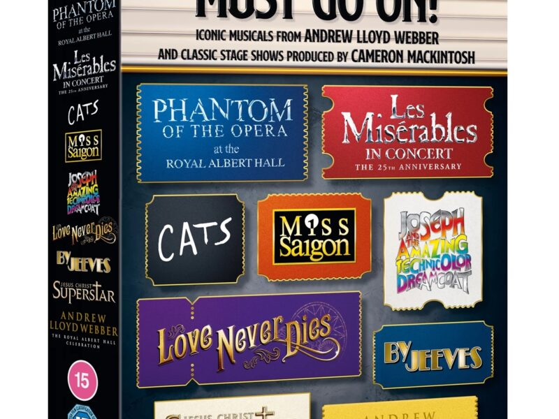 THE SHOW MUST GO ON! ULTIMATE MUSICALS COLLECTION DVD BOXSET ANNOUNCED