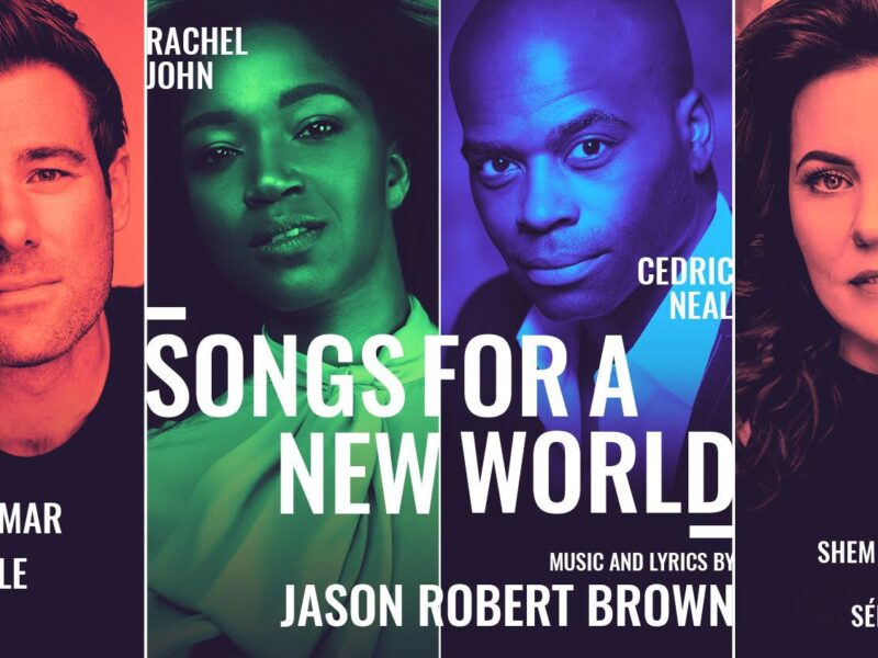 SONGS FOR A NEW WORLD – LIMITED RUN ANNOUNCED FOR VAUDEVILLE THEATRE