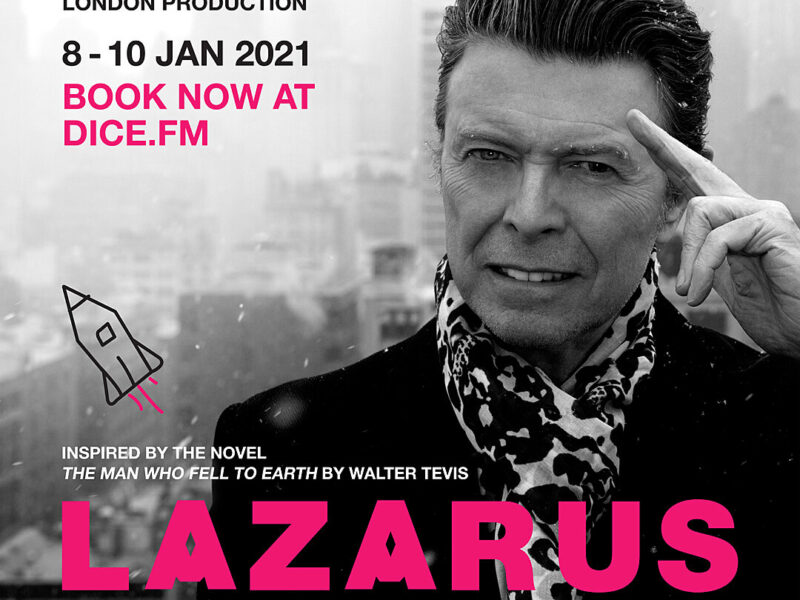 DAVID BOWIE MUSICAL LAZARUS TO STREAM ONLINE