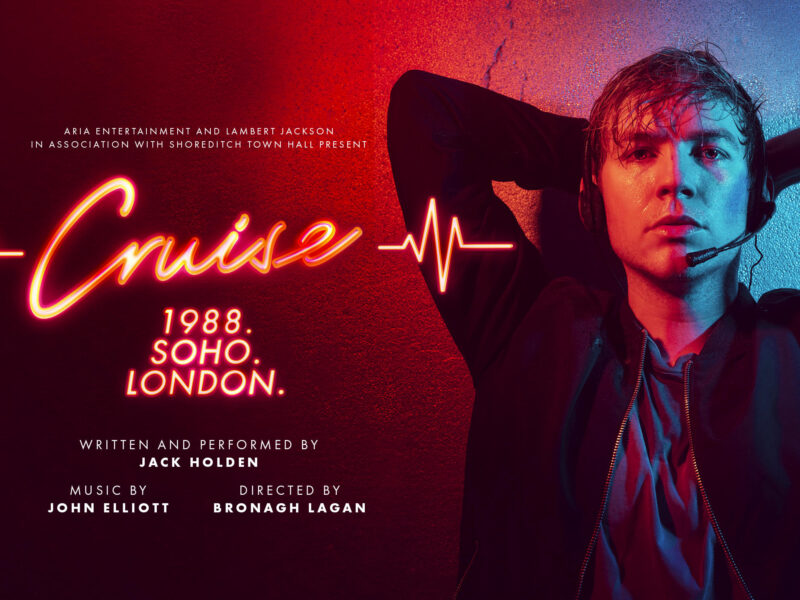 CRUISE – WORLD PREMIERE OF NEW PLAY TO STREAM ONLINE