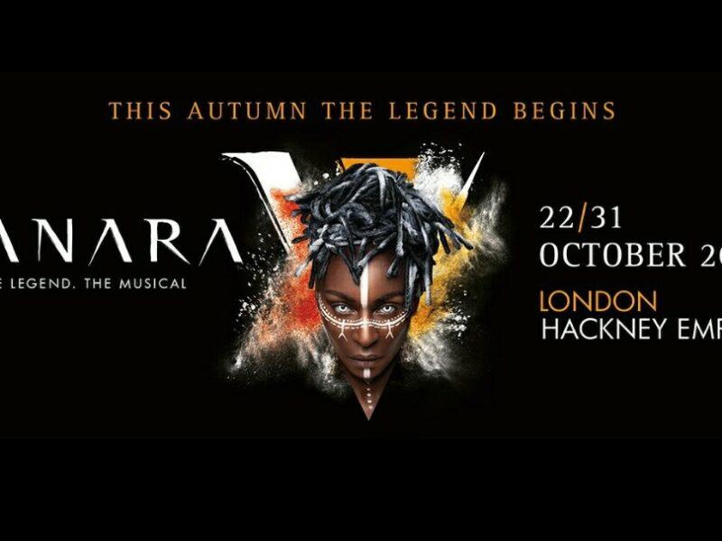 VANARA – WORLD PREMIERE OF NEW MUSICAL ANNOUNCED – HACKNEY EMPIRE – OCTOBER 2021