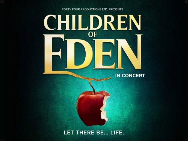 CHILDREN OF EDEN IN CONCERT RESCHEDULED DATES ANNOUNCED – OCTOBER 2021