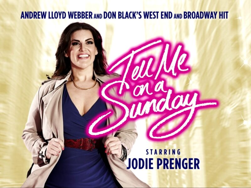 TELL ME ON A SUNDAY UK 2021 TOUR ANNOUNCED – STARRING JODIE PRENGER