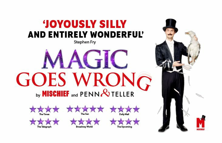 MAGIC GOES WRONG TO REOPEN AT APOLLO THEATRE – OCTOBER 2021