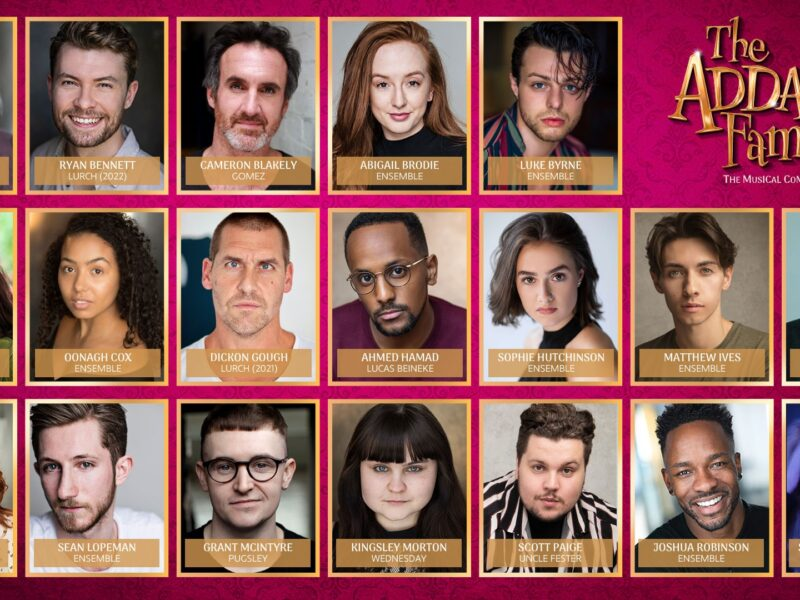THE ADDAMS FAMILY UK & IRELAND TOUR – FULL CAST ANNOUNCED