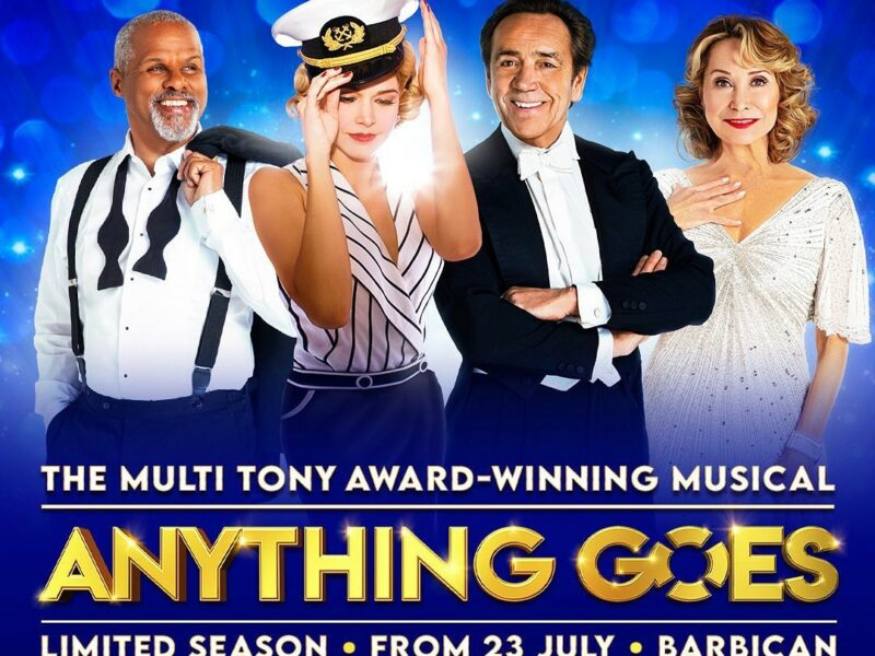 REVIEW – ANYTHING GOES – BARBICAN THEATRE