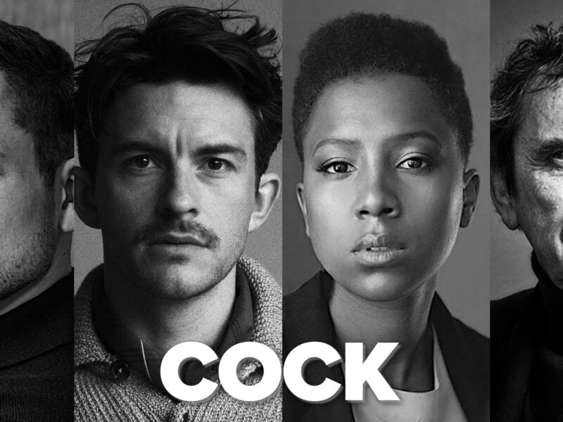 COCK BY MIKE BARTLETT – STARRING TARON EGERTON, JONATHAN BAILEY & MORE – DIRECTED BY MARIANNE ELLIOTT – ANNOUNCED