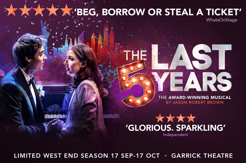 REVIEW – THE LAST FIVE YEARS – GARRICK THEATRE