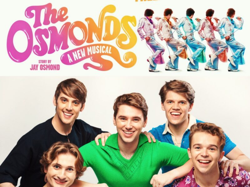 THE OSMONDS – A NEW MUSICAL – CAST ANNOUNCED
