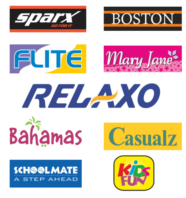 Relaxo Footwear Ltd- Footwear company in india Brand List