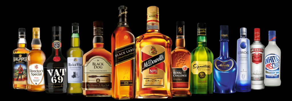 United Spirits- Breweries & Distilleries companies in India