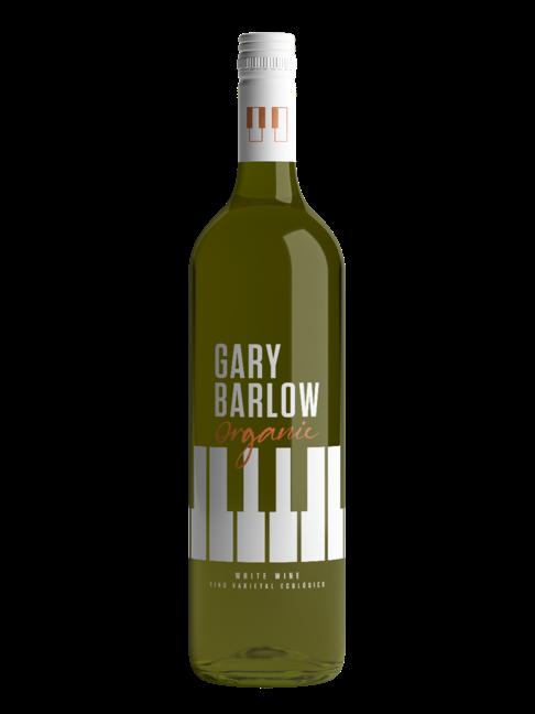 A bottle of Gary Barlow Organic White