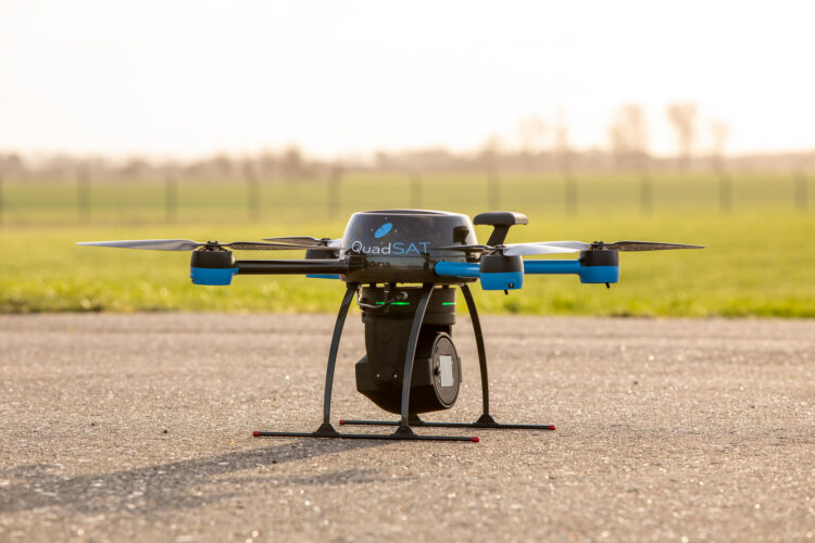 Drone with payload