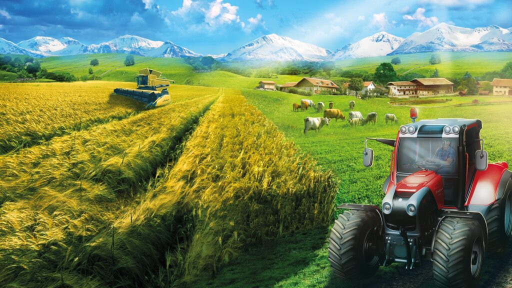 Professional Farmer 2017 is one of the time wasters on X-box platform