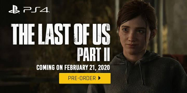 The last of US 2 to be releasing in May 2020 for PS 4
