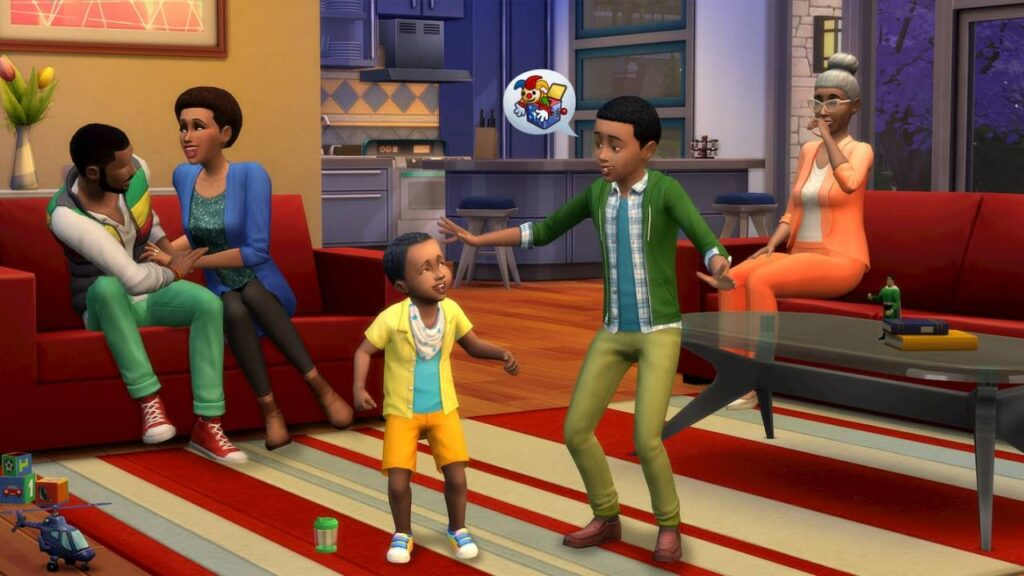 Sims 4 friends and families
