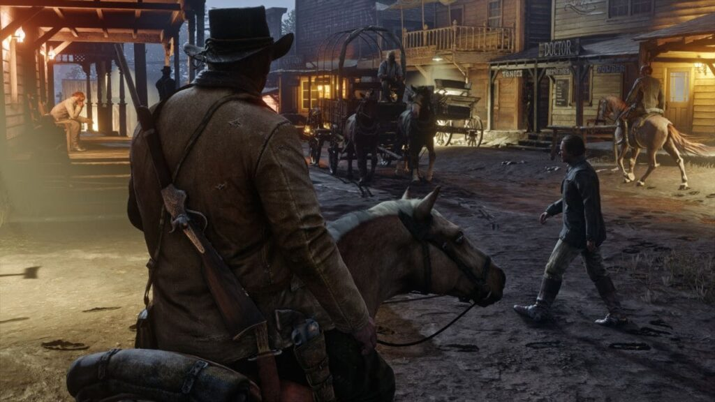 RDR2 gameplay