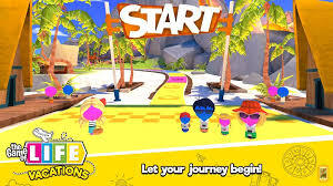 Journey of Game of Life - Start Up Screen
