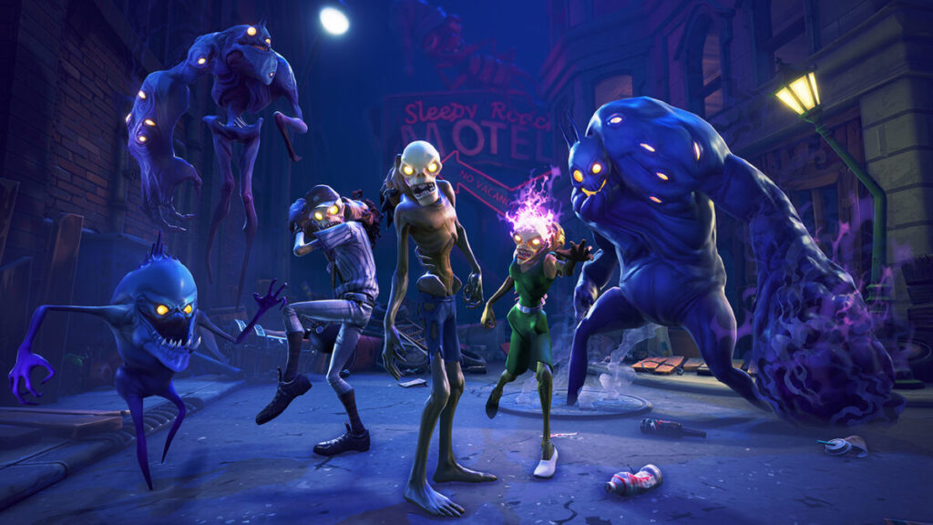 Zombies in Fortnite