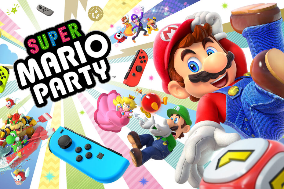 Unlock Characters in Super Mario Party