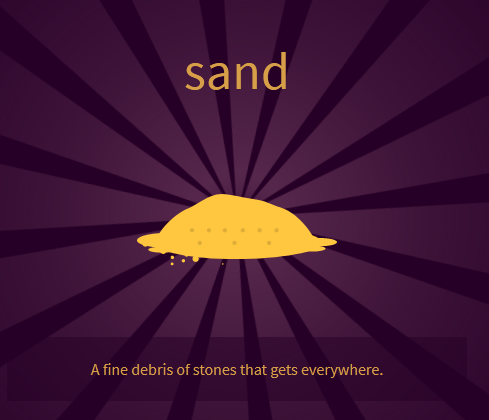 How to Make Sand
