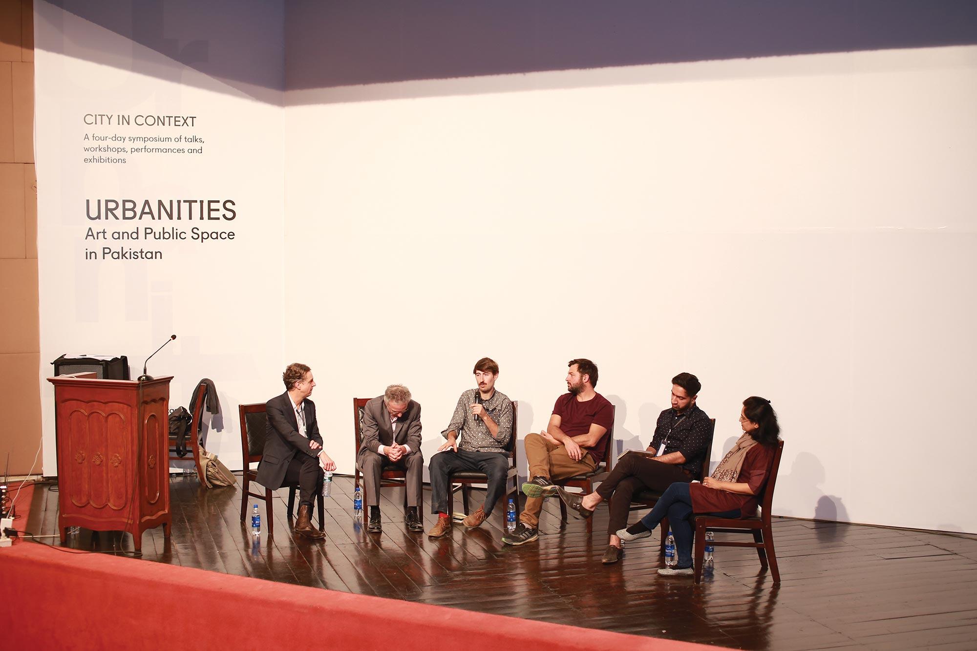 Bernd Kniess, Christopher Dell, Gulraiz Khan, Juan, David and Farida Batool