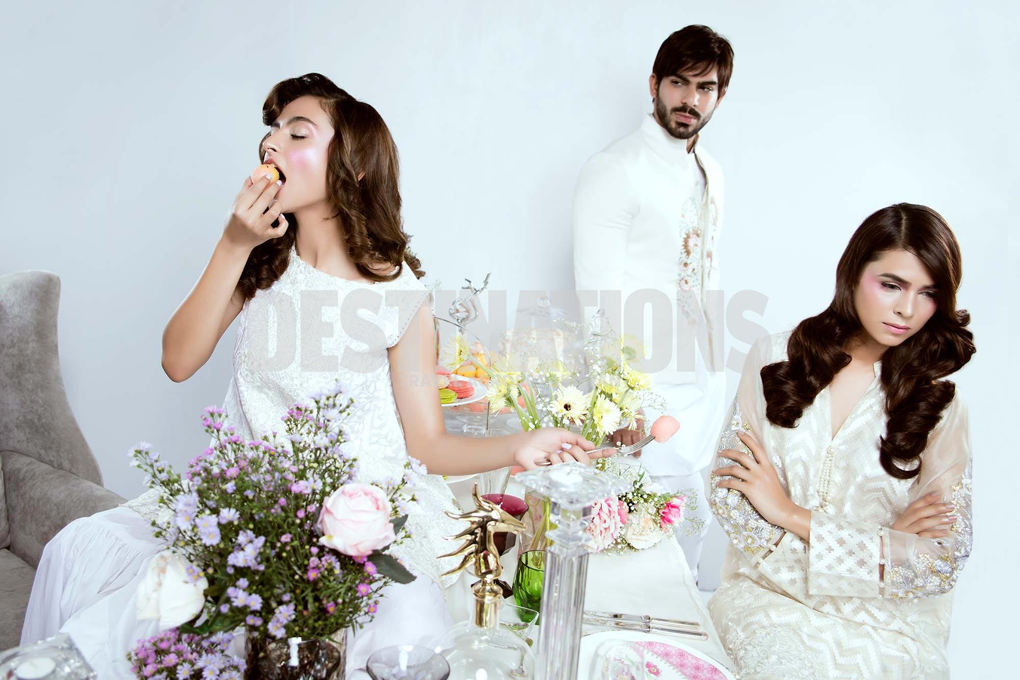 Waleed Khalid, Giti Ara & Yasmeen Hashmi