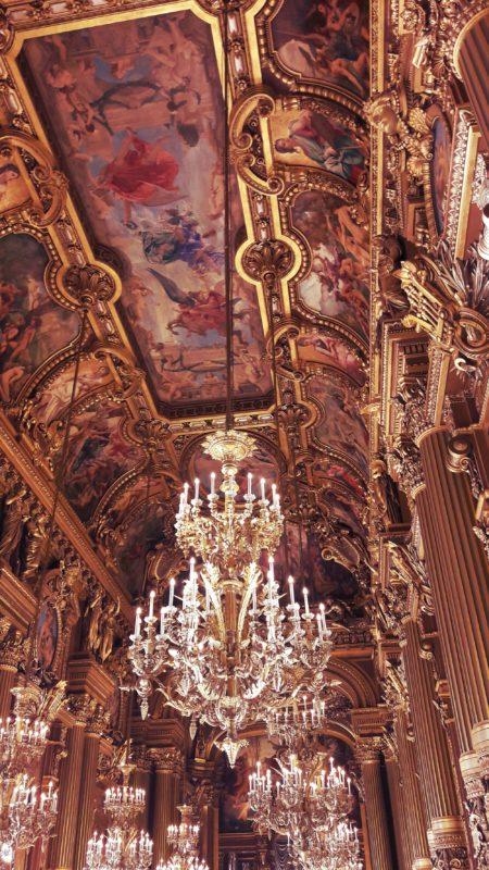 The Grand Foyer of Palais Garnier