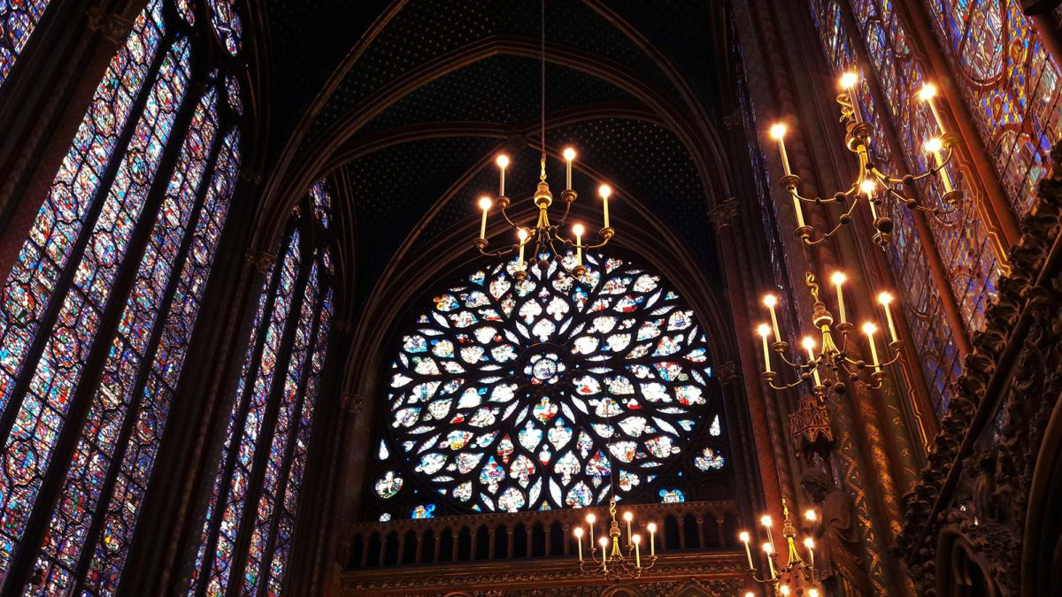 Stained Glass at Sainte-Chapelle