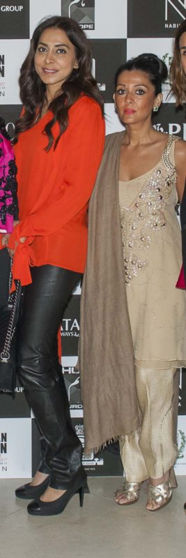 Bushra and Faiza Rangoonwala