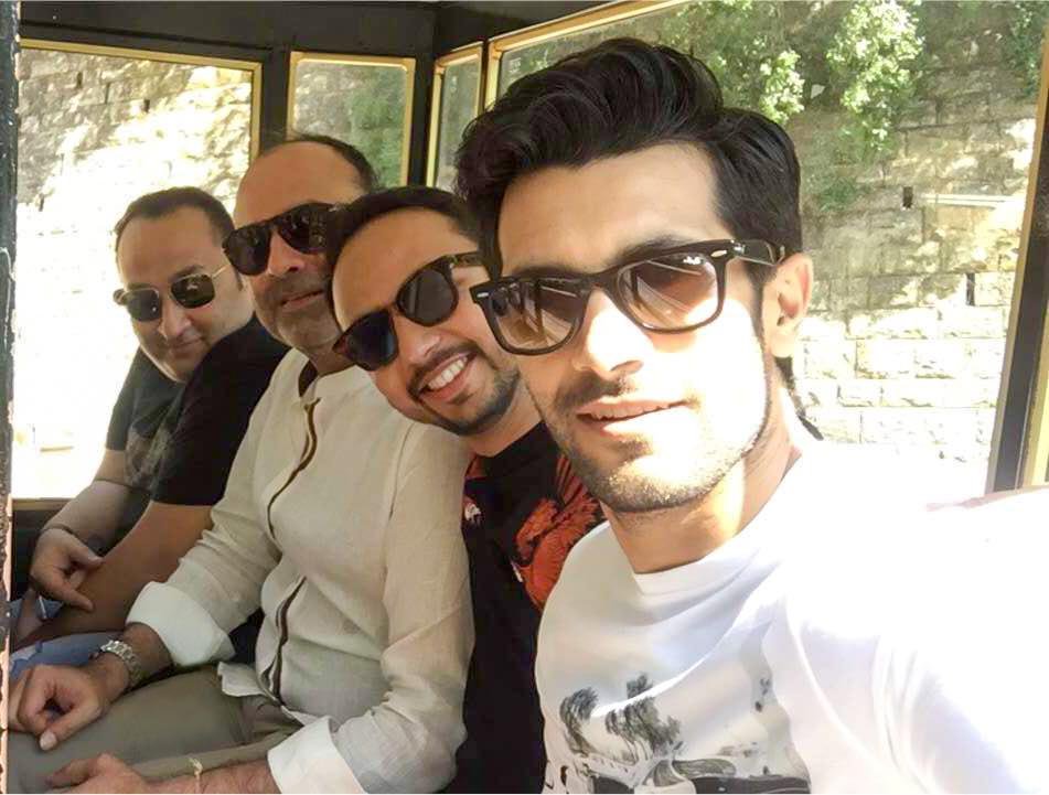 Aamir, Deepak, Nomi and Shahzad