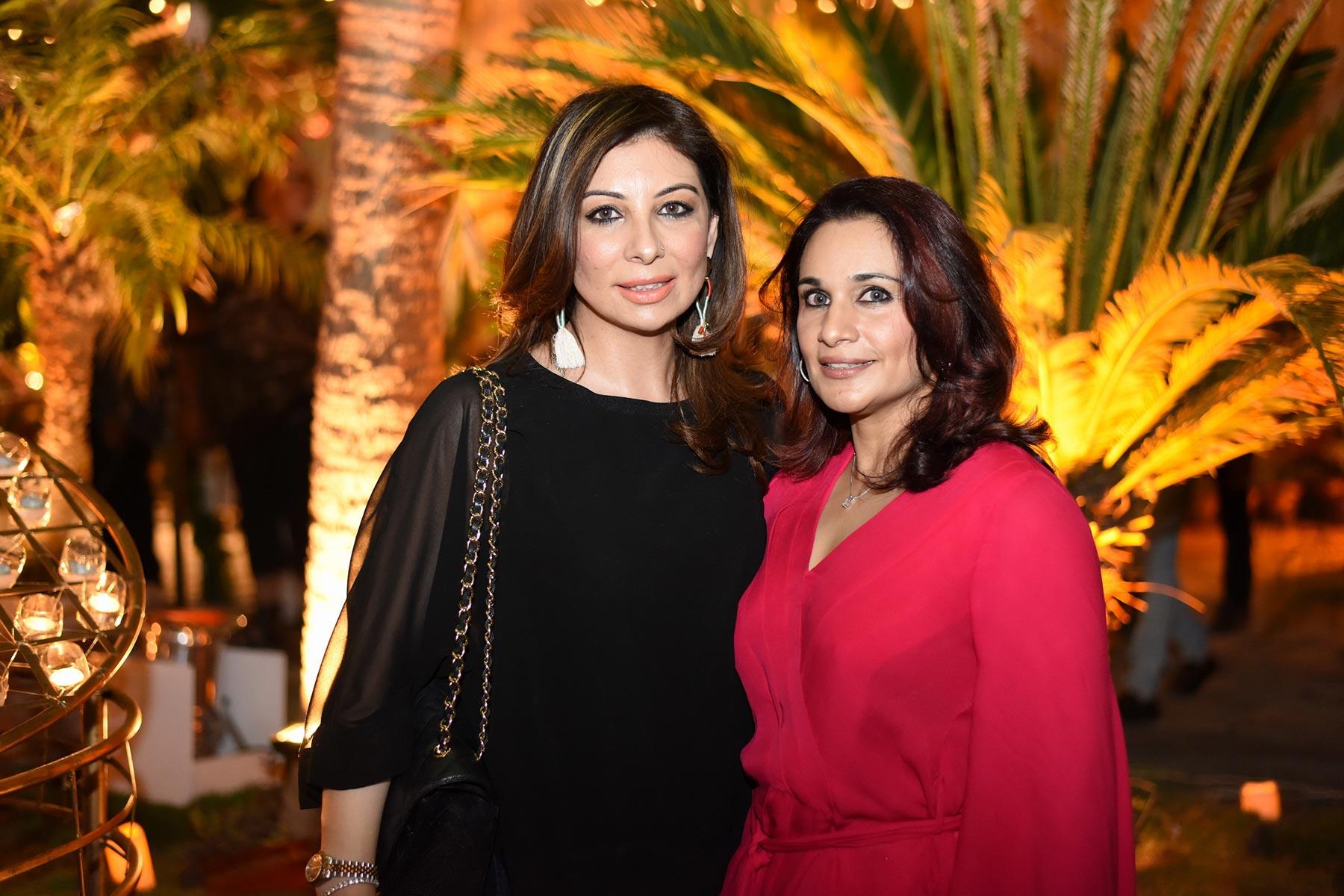 Abida and Natasha