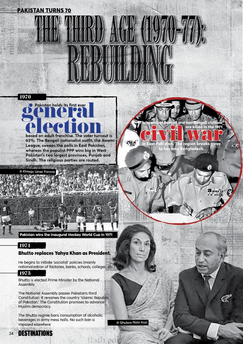 The Third Age (1970-1977) Rebuilding