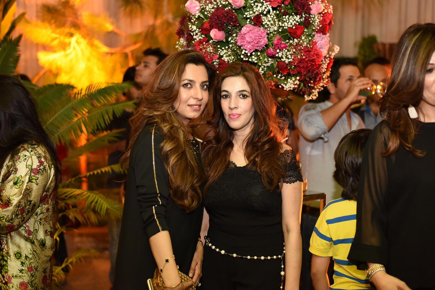 Nazia and Ambreen