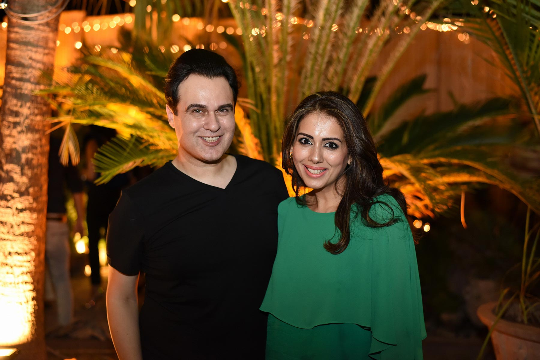 Rezz Aly Shah and Sarah Raza