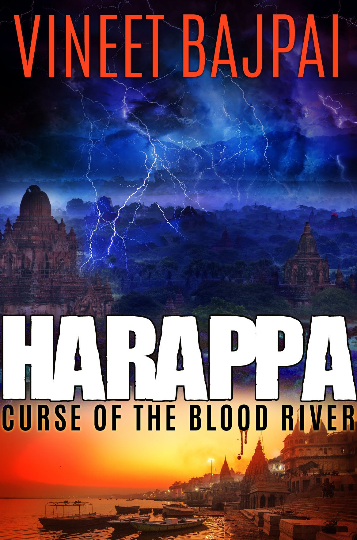 Harappa- Curse of the Blood River- Book Review