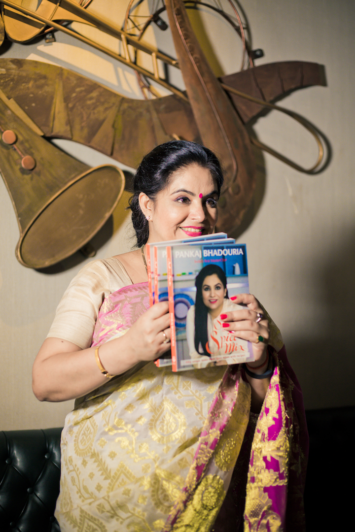 Secrets in the Spice Mix- Book Launch by Pankaj Bhadouria at Piali, CP