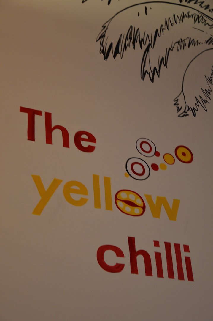 Experiencing great North Indian food at The Yellow Chilli, Goa!