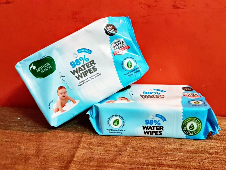 Mother Sparsh Baby Wipes, the next best thing to a mother's touch!