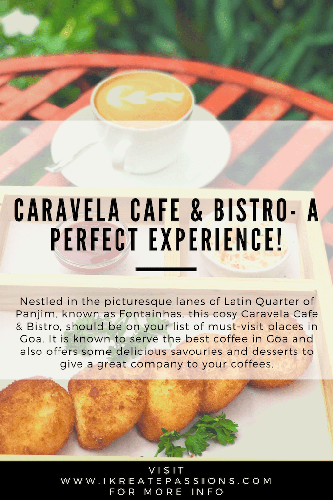 Caravela Cafe & Bistro- A Perfect Experience!