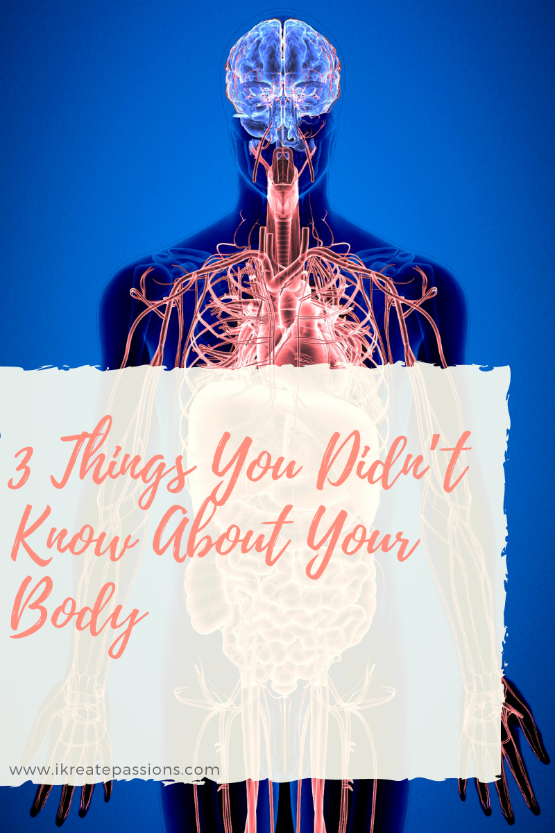 3 Things You Didn't Know About Your Body
