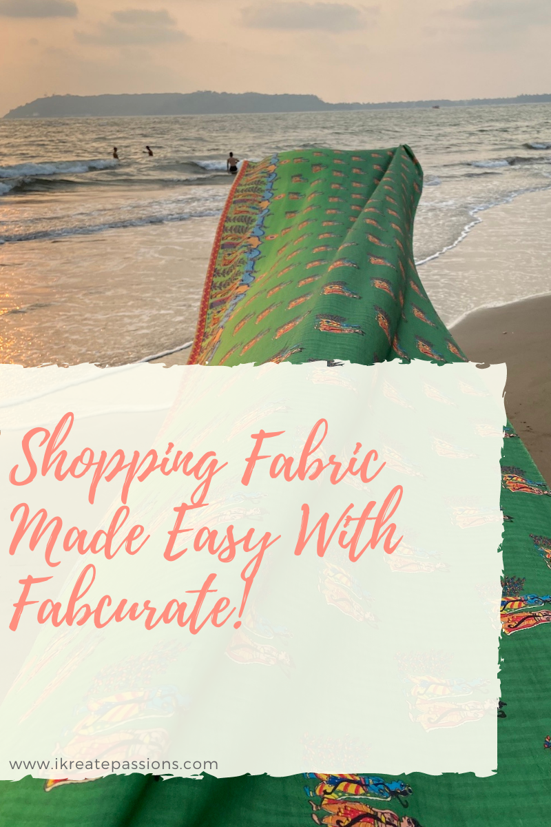 Shopping Fabric Made Easy With Fabcurate!