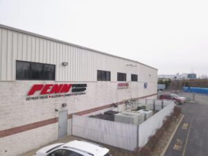 Penn Power Group Truck Repair and Service Shop in Cranberry, PA