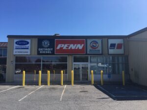 Penn Power Group Truck Repair and Service Shop in Fleetwood, PA