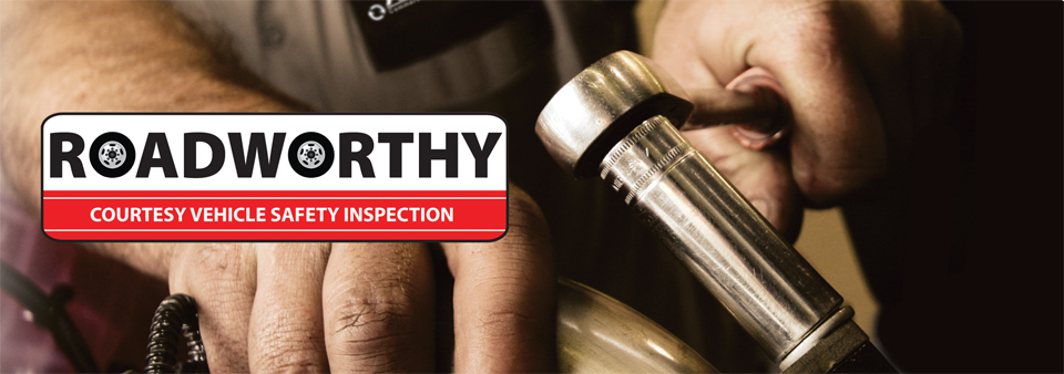 Roadworthy Courtesy Vehicle Safety Inspection