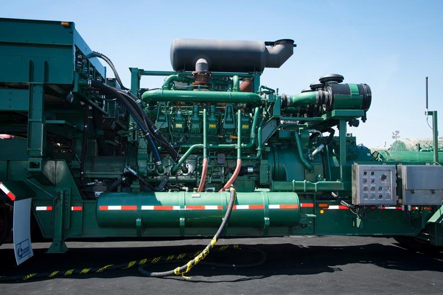 MTU Oil Gas machinery