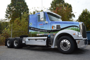 Penn Power Dual Fuel truck parked
