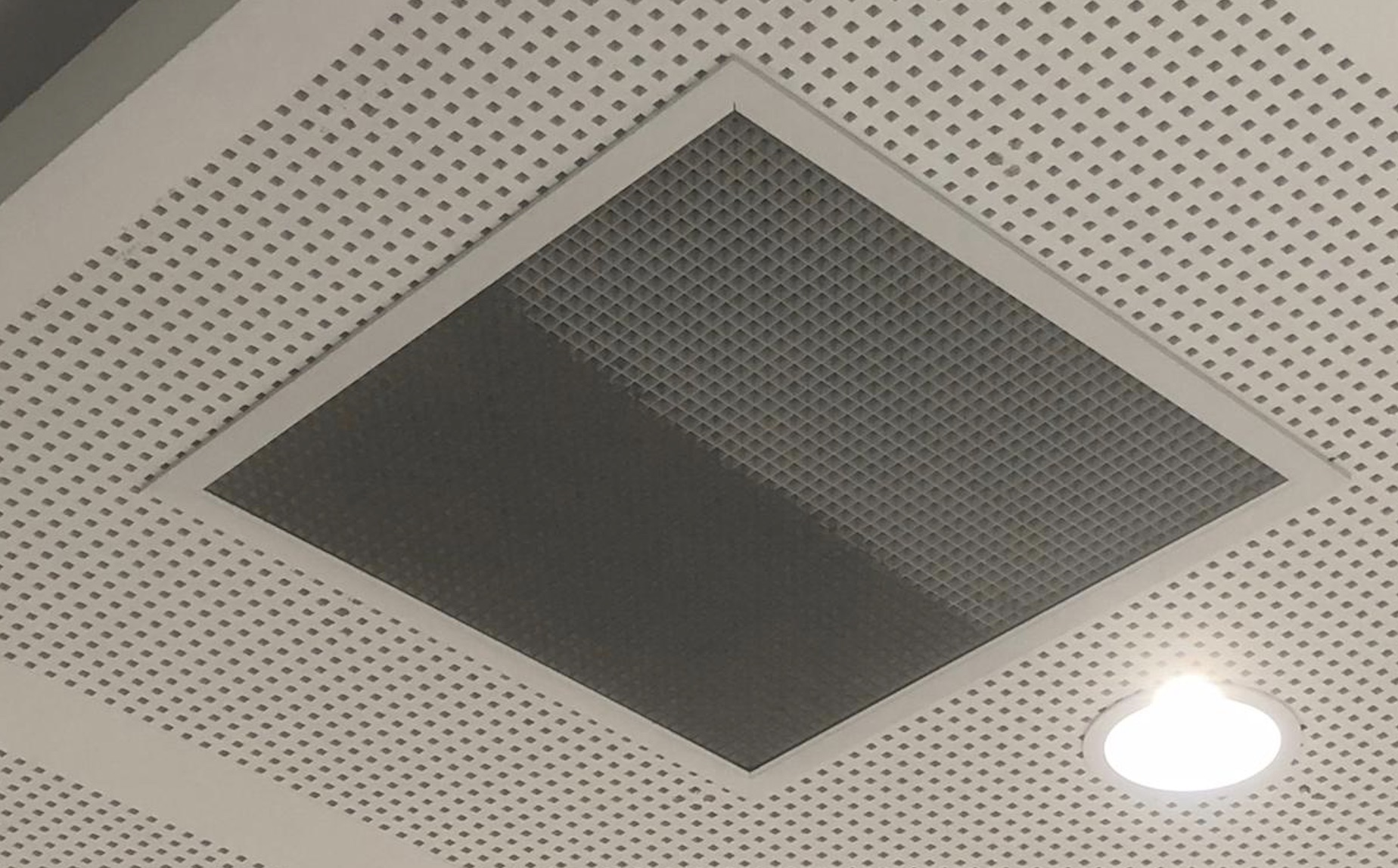 dust covered vent