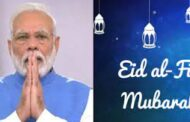PM Modi extends greetings on occasion of Eid-ul-Fitr